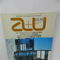 Libros de segunda mano: A+U. ARCHITECTURE AND URBANISM 169 OCT 1984 ENGLISH AND JAPANESE. ARQUITECTURA. Lote 57981436