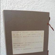 Libros de segunda mano: ESCUELA TALLER SAN FRANCISCO DE ASIS. PLANOS DE ARQUITECTURA. J GARCIA BAQUERO. J NAVASCUES.. Lote 58020518