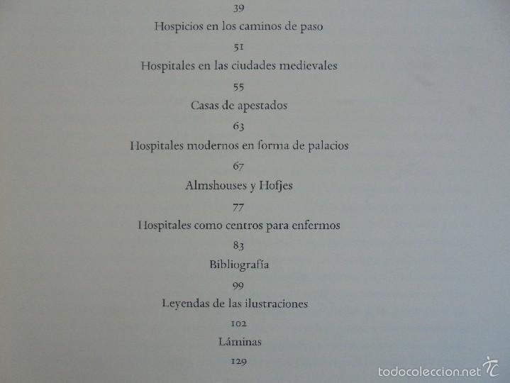 Libros de segunda mano: EDIFICIOS HOSPITALARIOS EN EUROPA DURANTE DIEZ SIGLOS. DANKWART LEISTIKOW. 1967. VER FOTOGRAFIAS. - Foto 9 - 58220888
