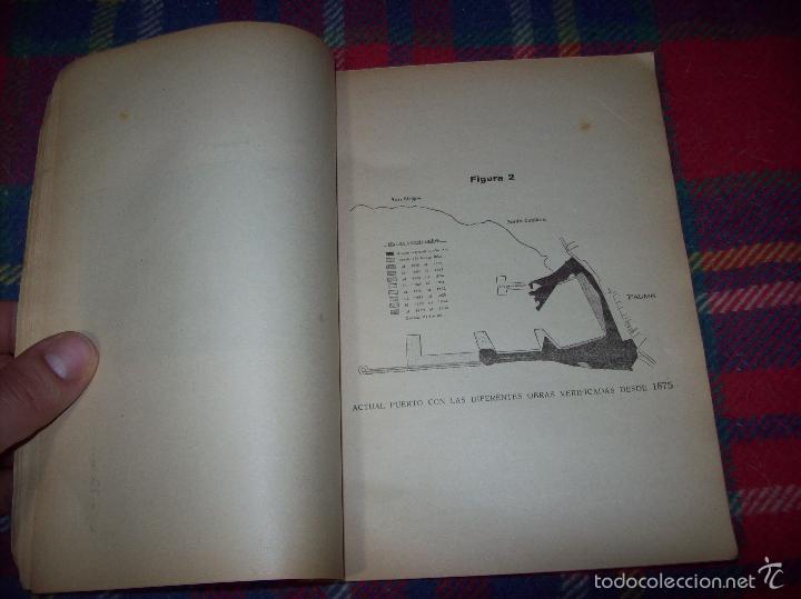 Libros de segunda mano: NUEVO PUERTO DE PALMA.ESBOZO DE ESTUDIO SOBRE SUS ANTECEDENTES HISTÓRICOS Y TÉCNICOS.1937. MALLORCA - Foto 8 - 58286287