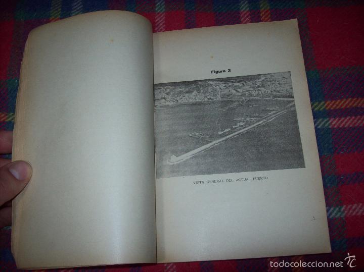 Libros de segunda mano: NUEVO PUERTO DE PALMA.ESBOZO DE ESTUDIO SOBRE SUS ANTECEDENTES HISTÓRICOS Y TÉCNICOS.1937. MALLORCA - Foto 10 - 58286287