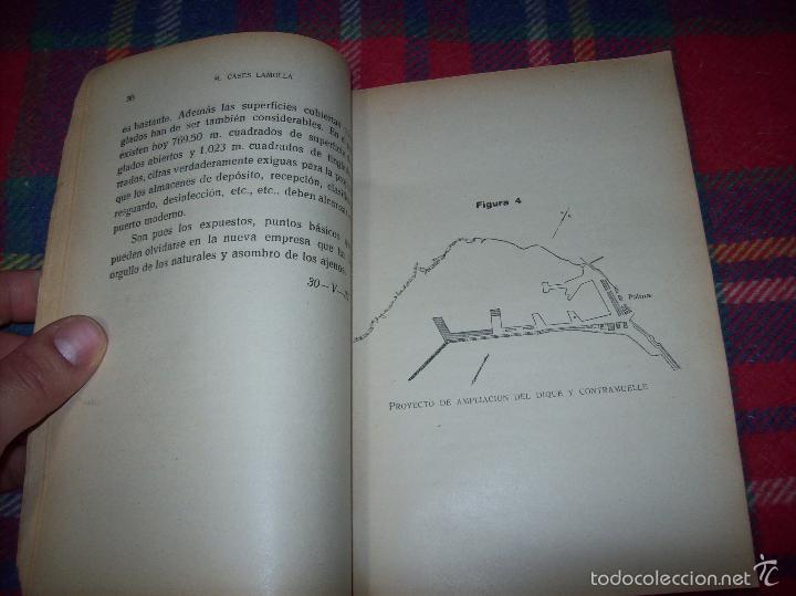 Libros de segunda mano: NUEVO PUERTO DE PALMA.ESBOZO DE ESTUDIO SOBRE SUS ANTECEDENTES HISTÓRICOS Y TÉCNICOS.1937. MALLORCA - Foto 11 - 58286287