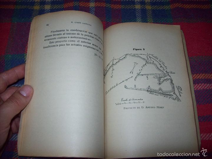 Libros de segunda mano: NUEVO PUERTO DE PALMA.ESBOZO DE ESTUDIO SOBRE SUS ANTECEDENTES HISTÓRICOS Y TÉCNICOS.1937. MALLORCA - Foto 12 - 58286287