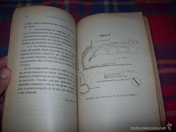 Libros de segunda mano: NUEVO PUERTO DE PALMA.ESBOZO DE ESTUDIO SOBRE SUS ANTECEDENTES HISTÓRICOS Y TÉCNICOS.1937. MALLORCA - Foto 15 - 58286287