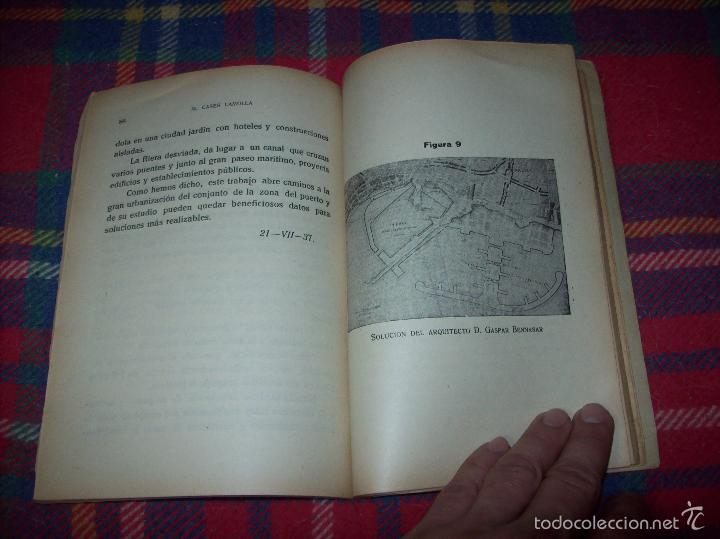 Libros de segunda mano: NUEVO PUERTO DE PALMA.ESBOZO DE ESTUDIO SOBRE SUS ANTECEDENTES HISTÓRICOS Y TÉCNICOS.1937. MALLORCA - Foto 16 - 58286287