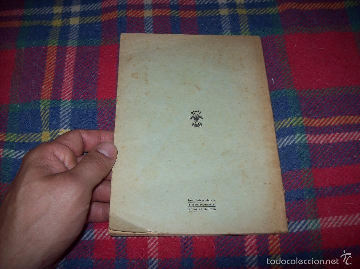 Libros de segunda mano: NUEVO PUERTO DE PALMA.ESBOZO DE ESTUDIO SOBRE SUS ANTECEDENTES HISTÓRICOS Y TÉCNICOS.1937. MALLORCA - Foto 29 - 58286287