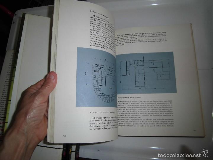 Libros de segunda mano: PROYECTAR ES FACIL 3 TOMOS DIBUJO TECNICO Y TOMO DE PERSPECTIVA BASICA.EDICIONES AFHA 1966-1970 - Foto 2 - 58340747