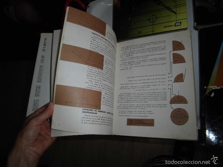 Libros de segunda mano: PROYECTAR ES FACIL 3 TOMOS DIBUJO TECNICO Y TOMO DE PERSPECTIVA BASICA.EDICIONES AFHA 1966-1970 - Foto 9 - 58340747