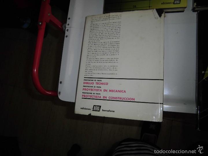 Libros de segunda mano: PROYECTAR ES FACIL 3 TOMOS DIBUJO TECNICO Y TOMO DE PERSPECTIVA BASICA.EDICIONES AFHA 1966-1970 - Foto 13 - 58340747