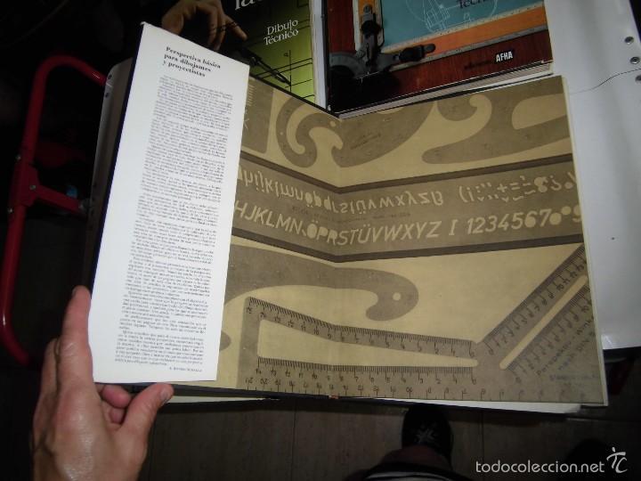 Libros de segunda mano: PROYECTAR ES FACIL 3 TOMOS DIBUJO TECNICO Y TOMO DE PERSPECTIVA BASICA.EDICIONES AFHA 1966-1970 - Foto 14 - 58340747