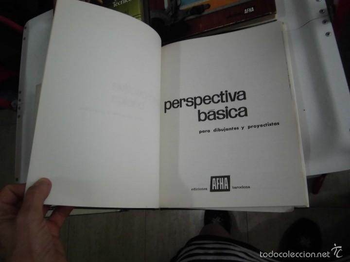 Libros de segunda mano: PROYECTAR ES FACIL 3 TOMOS DIBUJO TECNICO Y TOMO DE PERSPECTIVA BASICA.EDICIONES AFHA 1966-1970 - Foto 15 - 58340747