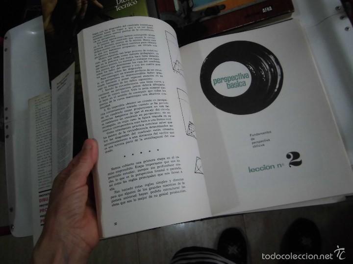 Libros de segunda mano: PROYECTAR ES FACIL 3 TOMOS DIBUJO TECNICO Y TOMO DE PERSPECTIVA BASICA.EDICIONES AFHA 1966-1970 - Foto 18 - 58340747