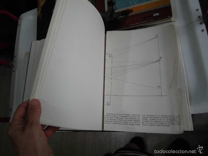 Libros de segunda mano: PROYECTAR ES FACIL 3 TOMOS DIBUJO TECNICO Y TOMO DE PERSPECTIVA BASICA.EDICIONES AFHA 1966-1970 - Foto 19 - 58340747
