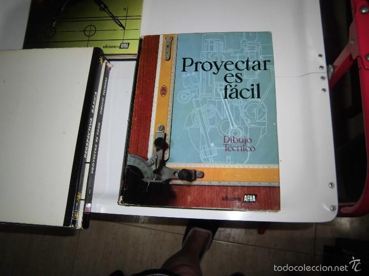 Libros de segunda mano: PROYECTAR ES FACIL 3 TOMOS DIBUJO TECNICO Y TOMO DE PERSPECTIVA BASICA.EDICIONES AFHA 1966-1970 - Foto 22 - 58340747