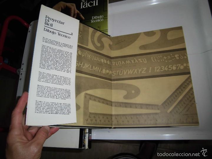 Libros de segunda mano: PROYECTAR ES FACIL 3 TOMOS DIBUJO TECNICO Y TOMO DE PERSPECTIVA BASICA.EDICIONES AFHA 1966-1970 - Foto 23 - 58340747