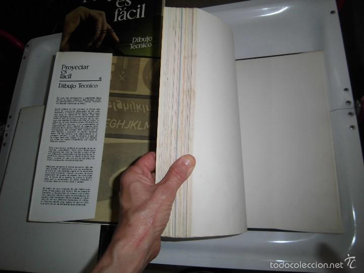 Libros de segunda mano: PROYECTAR ES FACIL 3 TOMOS DIBUJO TECNICO Y TOMO DE PERSPECTIVA BASICA.EDICIONES AFHA 1966-1970 - Foto 25 - 58340747
