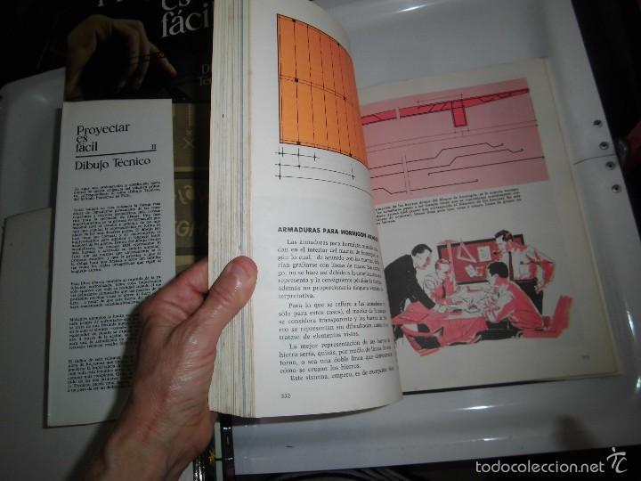 Libros de segunda mano: PROYECTAR ES FACIL 3 TOMOS DIBUJO TECNICO Y TOMO DE PERSPECTIVA BASICA.EDICIONES AFHA 1966-1970 - Foto 26 - 58340747