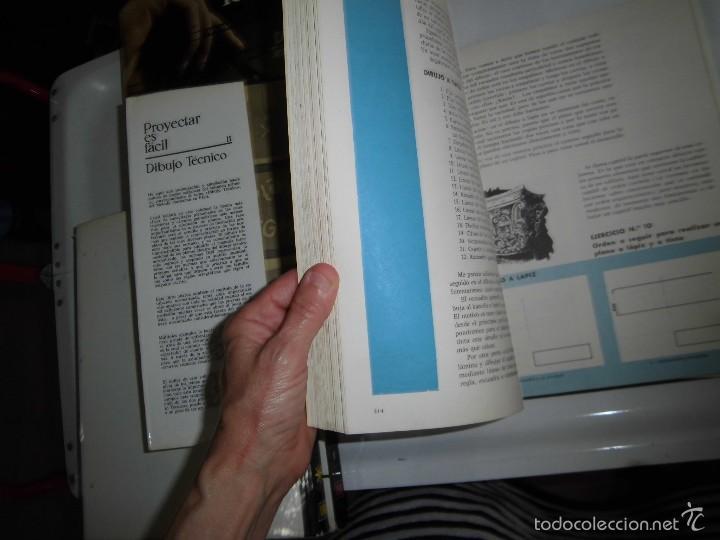 Libros de segunda mano: PROYECTAR ES FACIL 3 TOMOS DIBUJO TECNICO Y TOMO DE PERSPECTIVA BASICA.EDICIONES AFHA 1966-1970 - Foto 27 - 58340747