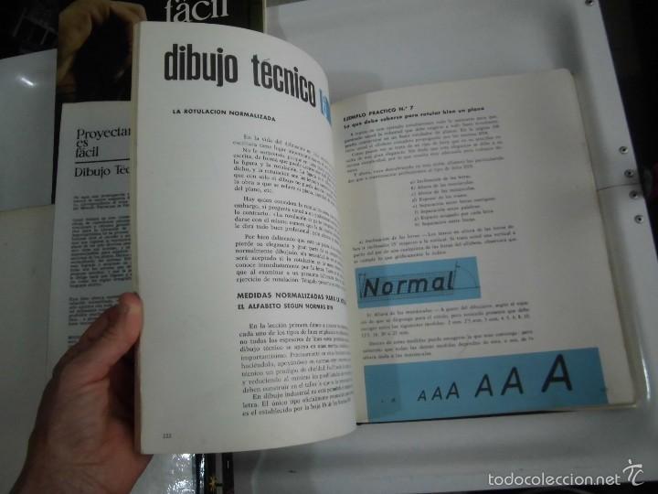 Libros de segunda mano: PROYECTAR ES FACIL 3 TOMOS DIBUJO TECNICO Y TOMO DE PERSPECTIVA BASICA.EDICIONES AFHA 1966-1970 - Foto 29 - 58340747