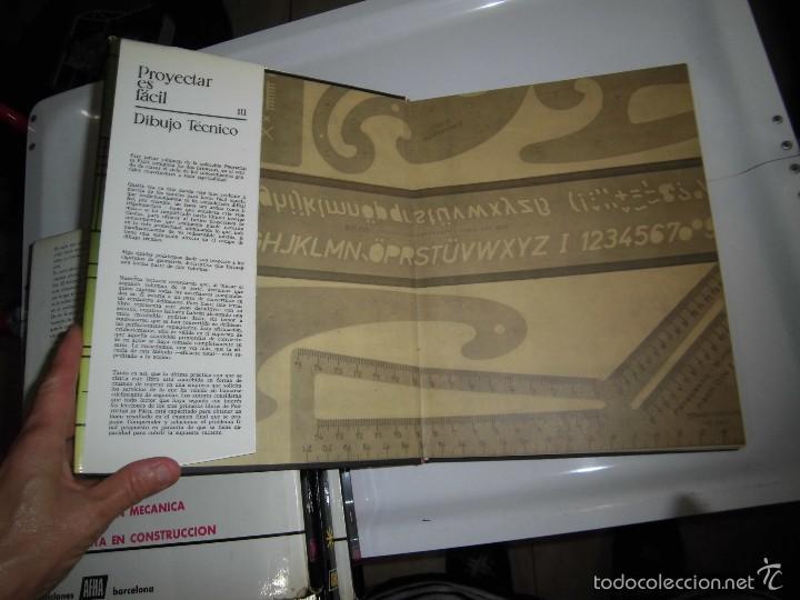 Libros de segunda mano: PROYECTAR ES FACIL 3 TOMOS DIBUJO TECNICO Y TOMO DE PERSPECTIVA BASICA.EDICIONES AFHA 1966-1970 - Foto 33 - 58340747