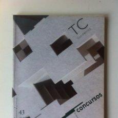 Libros de segunda mano: TC CUADERNOS 43 - CONCURSOS. Lote 58498596