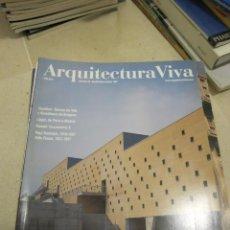 Libros de segunda mano: REVISTA ARQUITECTURA VIVA NUMERO 56. Lote 58507881