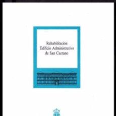 Libros de segunda mano: REHABILITACION EDIFICIO DE SAN CAETANO. ARQUITECTURA. SANTIAGO COMPOSTELA. GALICIA.. Lote 56703910