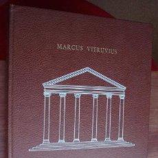 Libros de segunda mano: DE ARCHITECTURA. SOBRE LA ARQUITECTURA - VITRUVIUS, MARCUS L. (VITRUVIO). Lote 58477534