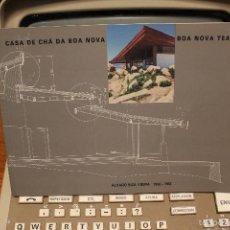 Libros de segunda mano: CLASICOS DE ARQUITECTURA. CASA DE TE BOA NOVA, PORTUGAL. ALVARO SIZA VIERA 1958-1963.. Lote 58623184