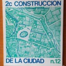 Libros de segunda mano: 2C CONSTRUCCIÓN DE LA CIUDAD, N.12. IL VENETO: TERRITORIO Y ARQUITECTURA.. Lote 58646025