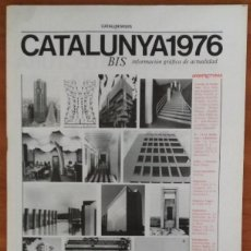 Libros de segunda mano: ARQUITECTURAS BIS, N.13-14. MAYO 1976.. Lote 58653253