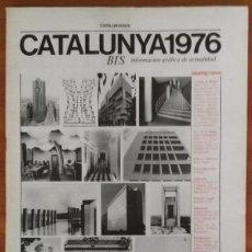 Libros de segunda mano: ARQUITECTURAS BIS, N.13-14. MAYO 1976.. Lote 58653400