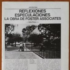 Libros de segunda mano: ARQUITECTURAS BIS, N.16. NOVIEMBRE 1976.. Lote 58654462