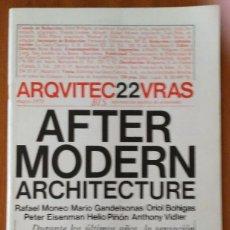 Libros de segunda mano: ARQUITECTURAS BIS, N.22. MAYO 1978.. Lote 58672807