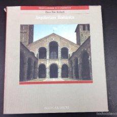 Libros de segunda mano: ARQUITECTURA ROMÁNICA- HANS ERIC KUBACH- AGUILAR. Lote 59060540