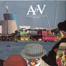Libros de segunda mano: A&V MONOGRAFIAS DE ARQUITECTURA Y VIVIENDA - DOBLE NÚMERO 34/35 - 1992 - SEVILLA EXPO 92. Lote 60133231