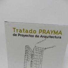 Libros de segunda mano: TRATADO PRAYMA DE PROYECTOS DE ARQUITECTURA FELISA MINGUET ARQUITECTOS DIBUJO EMBT. Lote 60746067