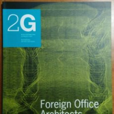 Libros de segunda mano: 2G N.16, 2000/IV. FOREIGN OFFICE ARCHITECTS.. Lote 61937264