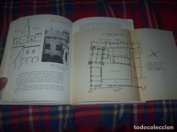 LA ALMUDAINA.CASTILLO REAL DE LA CIUDAD DE MALLORCA.FRANCISCO ESTABÉN RUIZ.1975. TODO UNA JOYA!!!!!! (Libros de Segunda Mano - Bellas artes, ocio y coleccionismo - Arquitectura)