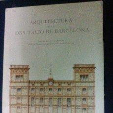 Libros de segunda mano: ARQUITECTURA DE LA DIPUTACIO DE BARCELONA. CARPETA CON 18 LÁMINAS. Lote 63505972