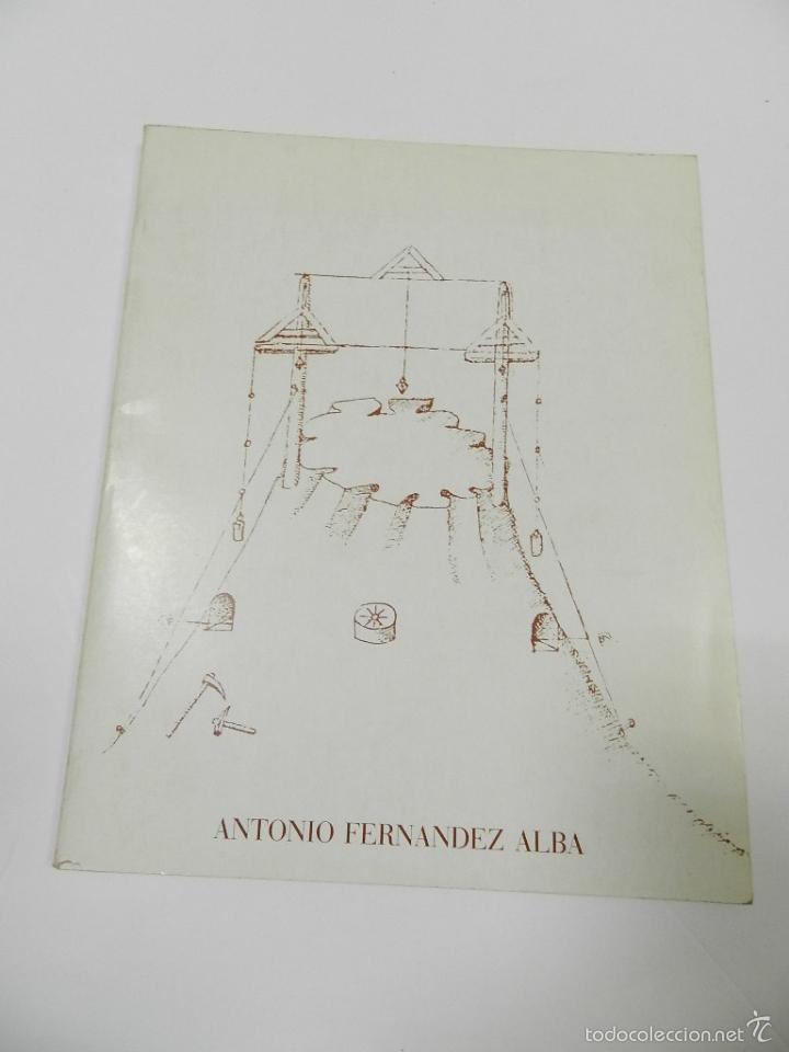 ANTONIO FERNANDEZ ALBA CATALOGO ARQUITECTURA (Libros de Segunda Mano - Bellas artes, ocio y coleccionismo - Arquitectura)