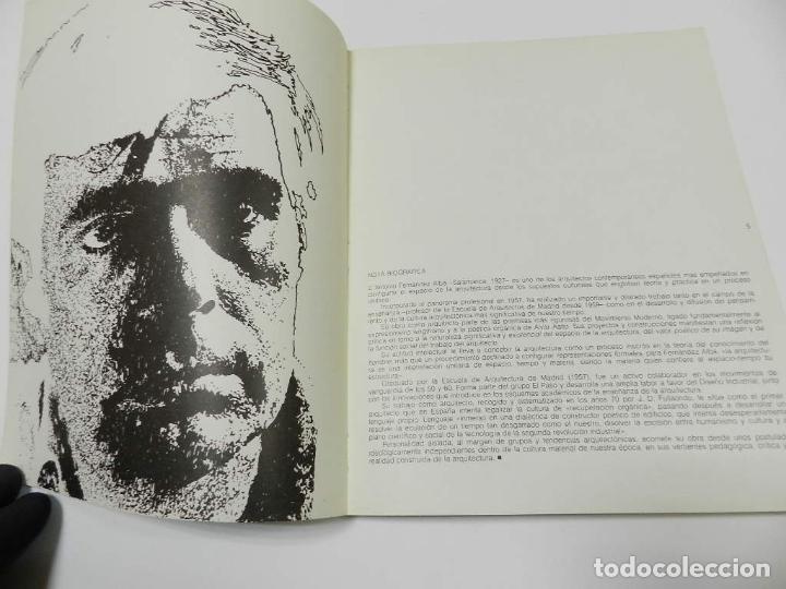 Libros de segunda mano: ANTONIO FERNANDEZ ALBA CATALOGO ARQUITECTURA - Foto 5 - 64086847