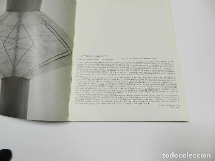 Libros de segunda mano: ANTONIO FERNANDEZ ALBA CATALOGO ARQUITECTURA - Foto 6 - 64086847