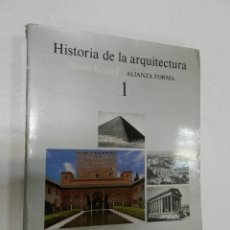 Livros em segunda mão: HISTORIA DE LA ARQUITECTURA, Nº 1, SPIRO KOSTOF, ARQUITECTURA / ARCHITECTURE, ALIANZA EDITORIAL. Lote 208826150