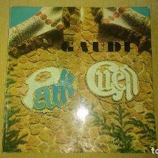 Libros de segunda mano: MUY RARO LIBRO DE PARK GUELL GAUDI EDICIONES POLÍGRAFA 2 EDICIÓN AÑO 1971 CON FOTOGRAFÍAS MIREN FOTO. Lote 64378555