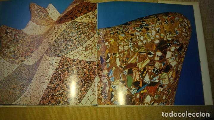 Libros de segunda mano: Muy raro libro de Park guell gaudi ediciones polígrafa 2 edición año 1971 con fotografías miren foto - Foto 4 - 64378555