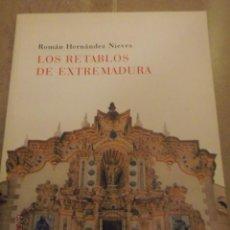 Libros de segunda mano: LOS RETABLOS DE EXTREMADURA, CUADERNOS POPULARES 62. . Lote 64711191