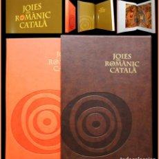 Libros de segunda mano: PCBROS - JOIES DEL ROMÀNIC CATALÀ -ED. 1ª 2010 - ENCICLOPÈDIA CATALANA - MUY ILUSTRADA - GRAN FORMAT. Lote 64933823