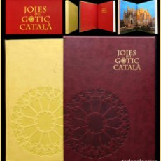 Libros de segunda mano: PCBROS - JOIES DEL GÒTIC CATALÀ - ED. 1ª 2013 - ENCICLOPÈDIA CATALANA - MUY ILUSTRADA - GRAN FORMAT. Lote 64934927