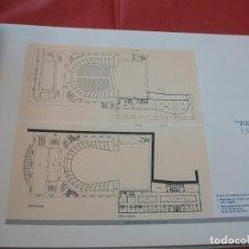 Libros de segunda mano: TEATRO MUNICIPAL MIGUEL DE CERVANTES (MÁLAGA ARQUITECTURA). Lote 66243478